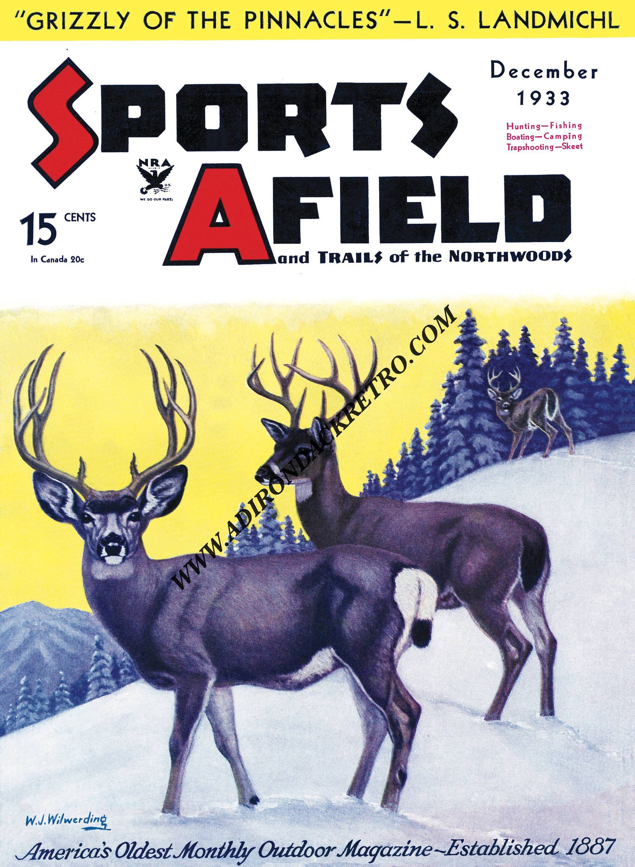 Deer Print - Hunting Print - Woodland Wall Art - Man Cave Wall Decor ...