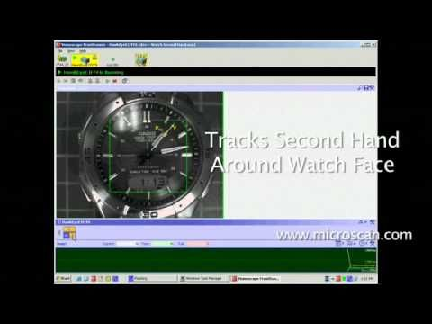 Microscan Visionscape Machine Vision Software: Watch Trick