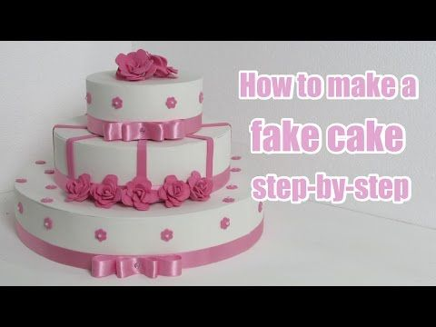 How to make a faux cake