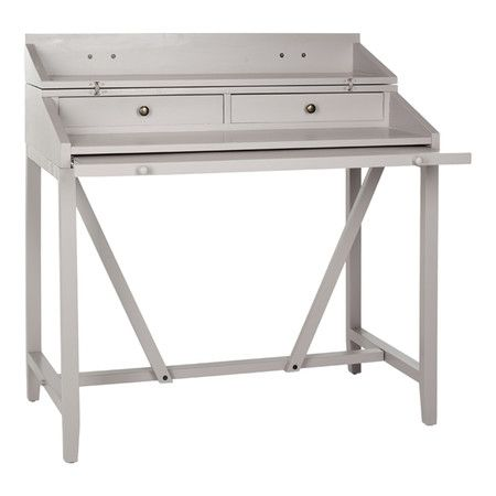 Wyatt Writing Desk in Gray