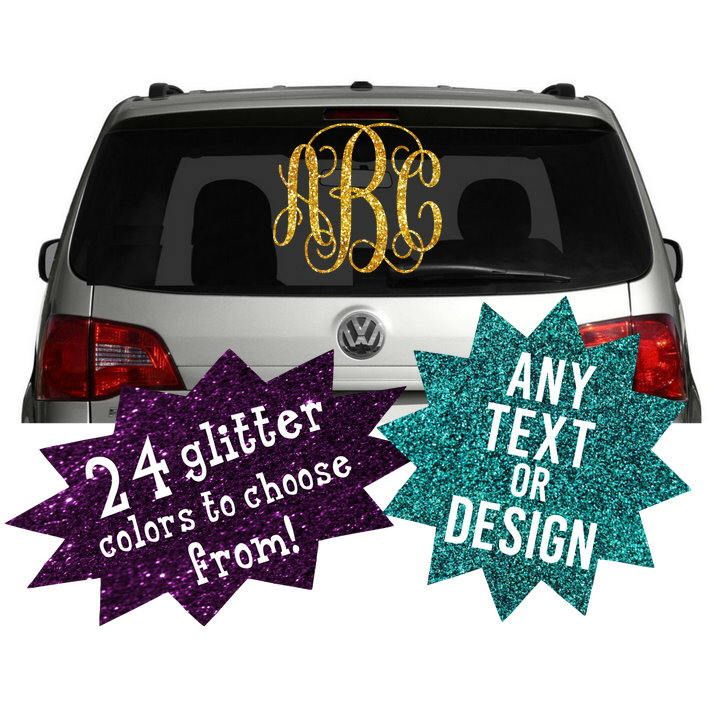 A personal favorite from my etsy shop https www etsy com · glitter carmonogram car decalschessacustom