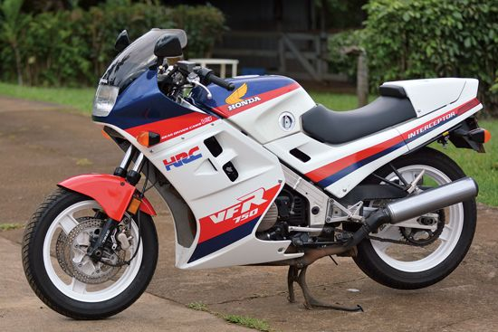 A Lot Was Riding On The Honda VFR750F And Its Manufacturer Determined To Get It Right Story Photos By Robert Smith Motorcycle Classics