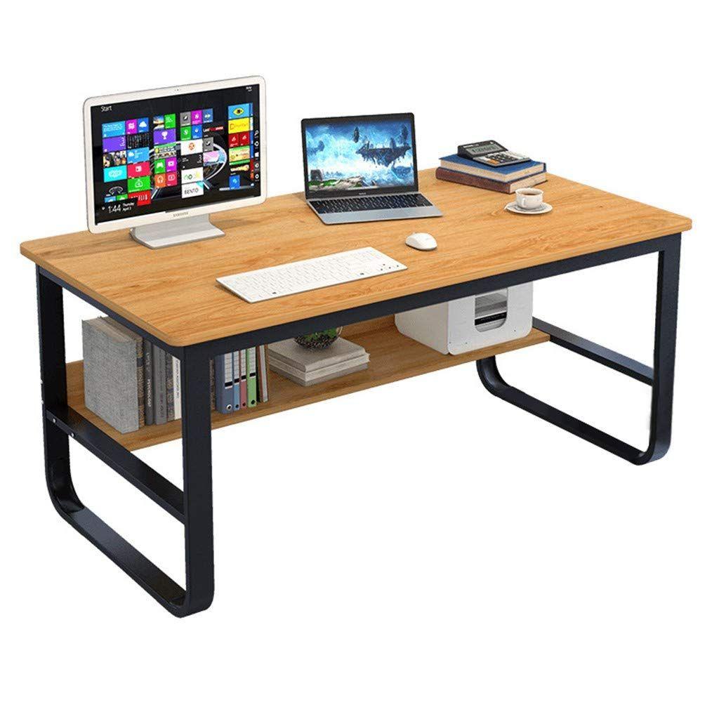 Amazon Com Modern Computer Desk With Bookshelf 47 Simple Style