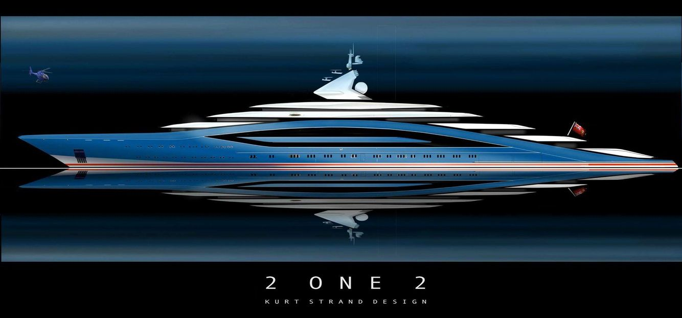 A Bohemith At 212m But Still Has Class And Style Love This Superyacht Concept Yacht Design Boats Luxury Super Yachts