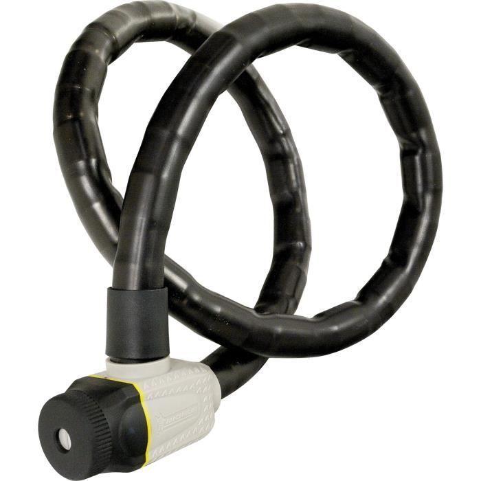 MICHELIN Antivol articulé + clé – L 1200 mm x Ø 25 mm