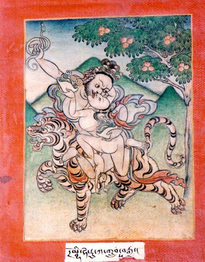 Indian Adept (siddha) - Dombi Heruka   История искусства, Буддизм, Тибет