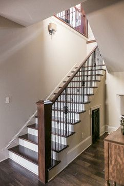 Dog Kennel Under The Stairs, Dog Cage Under The Stairs, Staircase, Stairway,  Stained Treads, Stained Stair Treads, Brown Stair Treads | Rustic Lake Home  ...