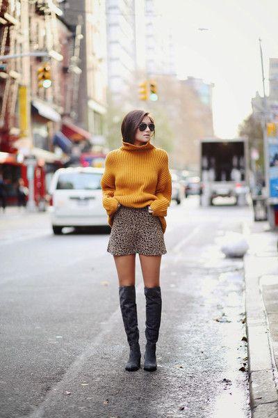 Camel Turtleneck Cozy Sweater
