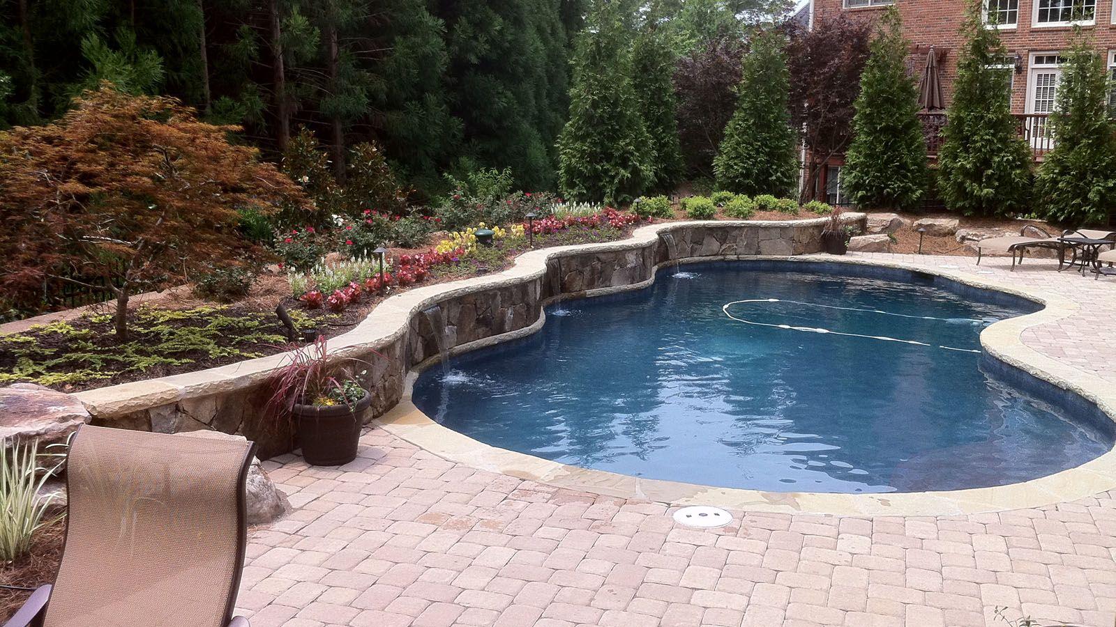 Aqua Design Pools & Spas, LLC. - Natural | Outside | Pinterest ...