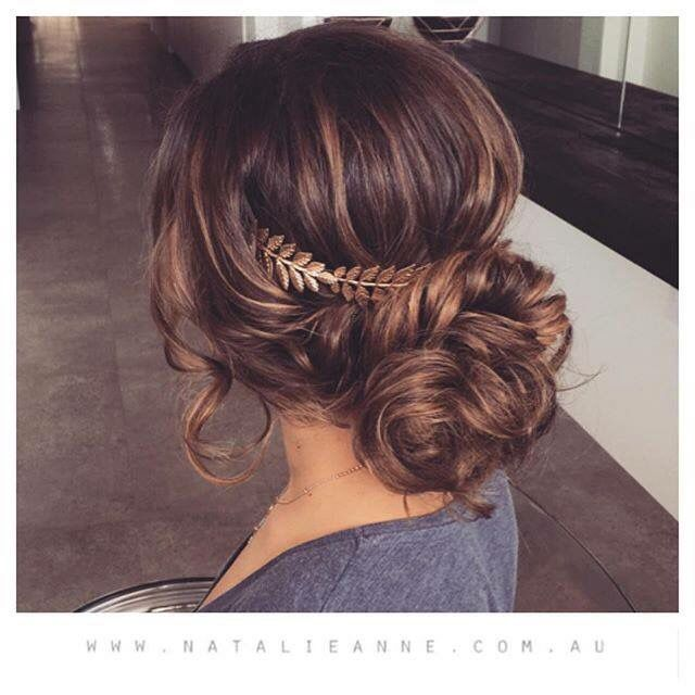 Grecian Updo--definitely possibility for Colin and Caitlin ...