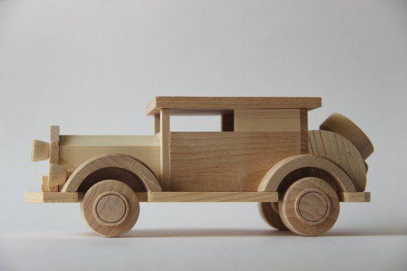 Brinquedo de madeira carro FORD crianças brinquedo eco friendly   Etsy