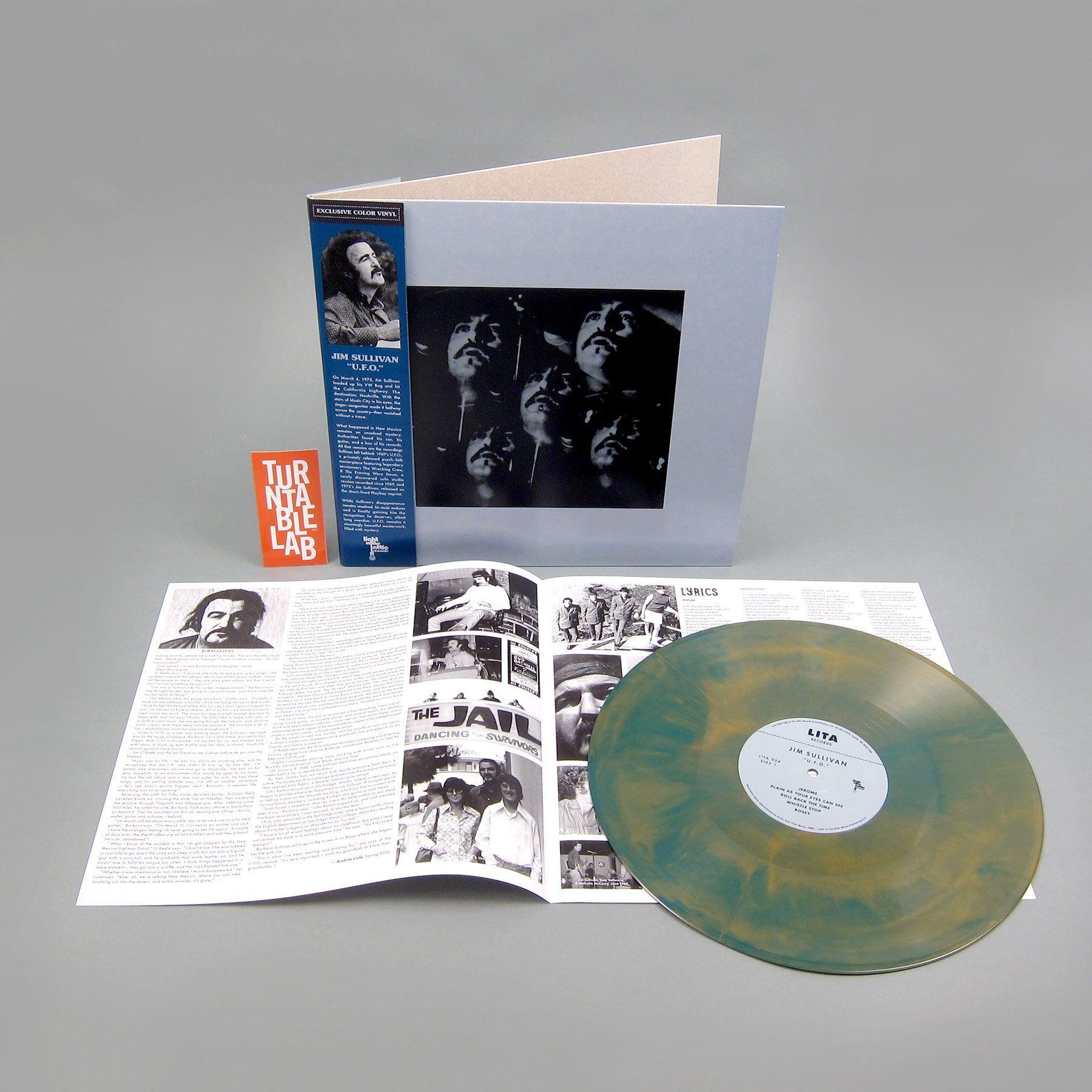 Jim Sullivan U F O 180g Galaxy Colored Vinyl Vinyl Lp In 2020 Galaxy Colors Better Music Galaxy