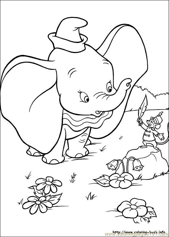 Disney Dumbo Coloring Pages Bing Images Maleboger Dumbo Tegning