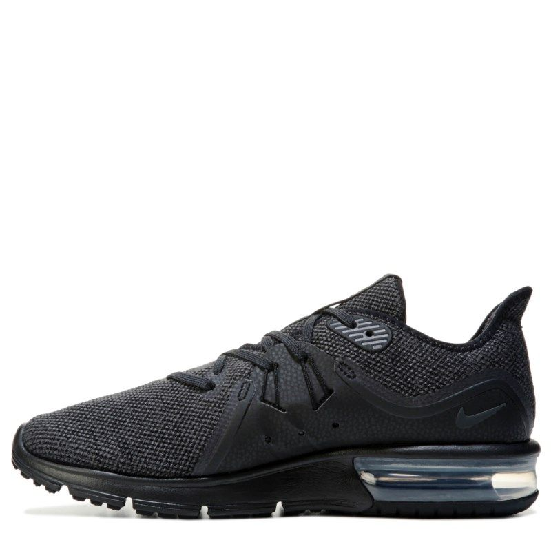 42b015bb703 Nike Men s Air Max Sequent 3 Running Shoes (Black Black)