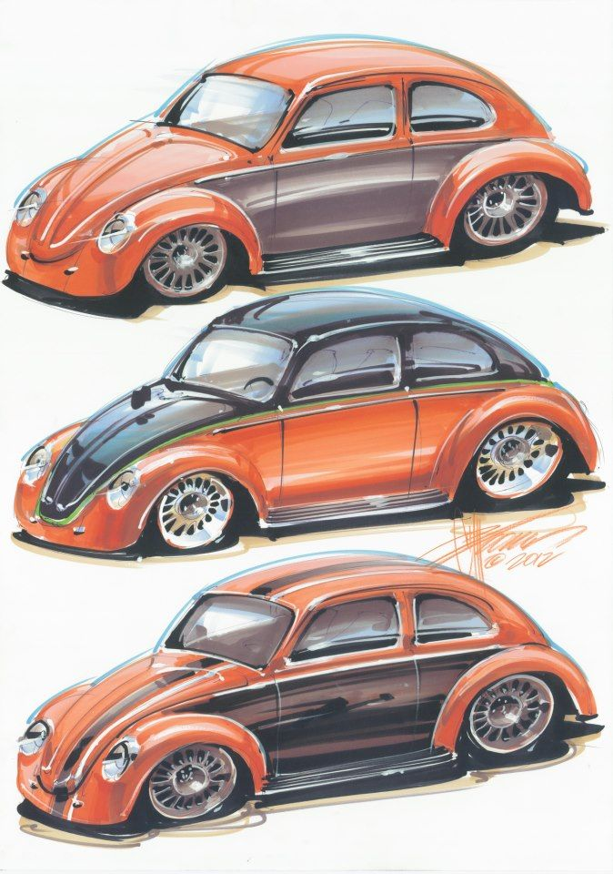 vw beatle design by foose
