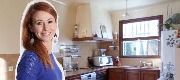 Relooker une cuisine rustique, repeindre les meubles de cuisine, la