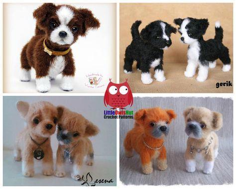 Dieses Angebot Gilt Fur Ein Instant Download Pdf Muster Kein Fertiges Projekt Sprache Englisch Crochet Dog Shih Tzu Puppy Dog Pattern