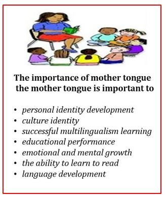 importance of mother tongue education