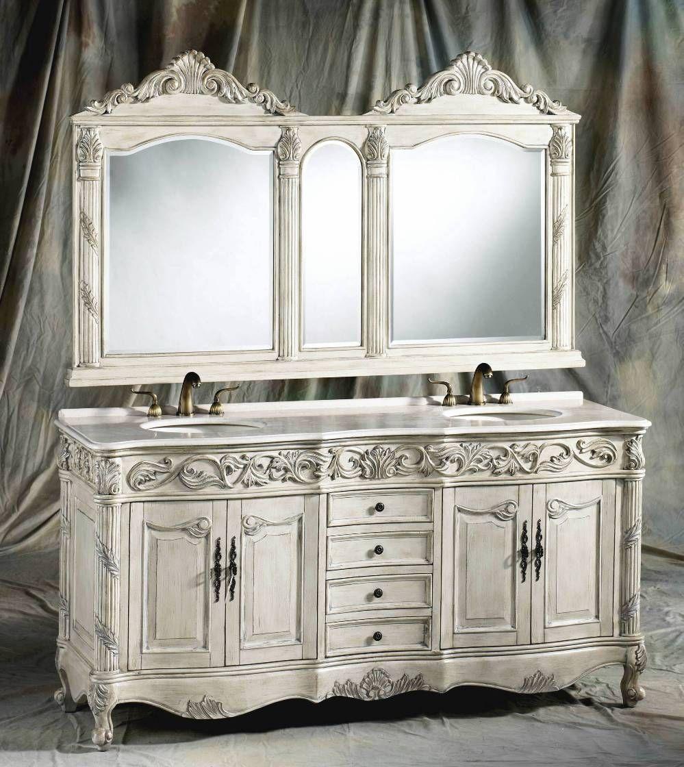 72-Inch Carolina Vanity | Double Sink Vanity | Antique ...