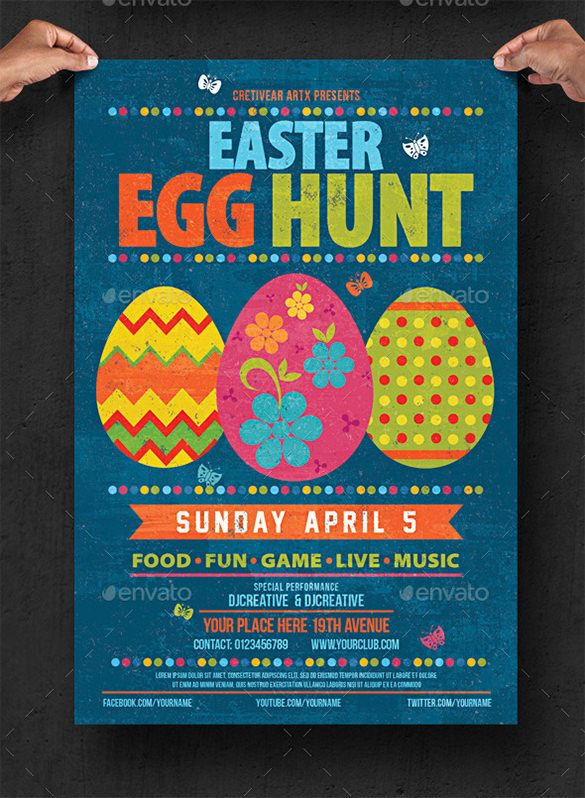 Easter Egg Templates – 40+ Free sample, Example, Format Download! | Free & Premium Templates