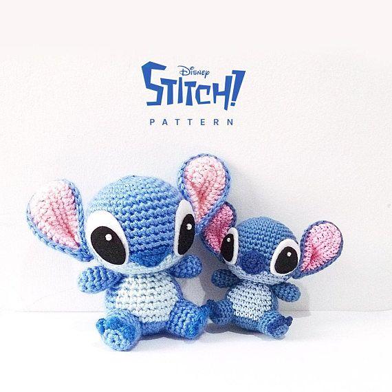 PATTERN: Stitch | Tejido, Unicornios y Pompones
