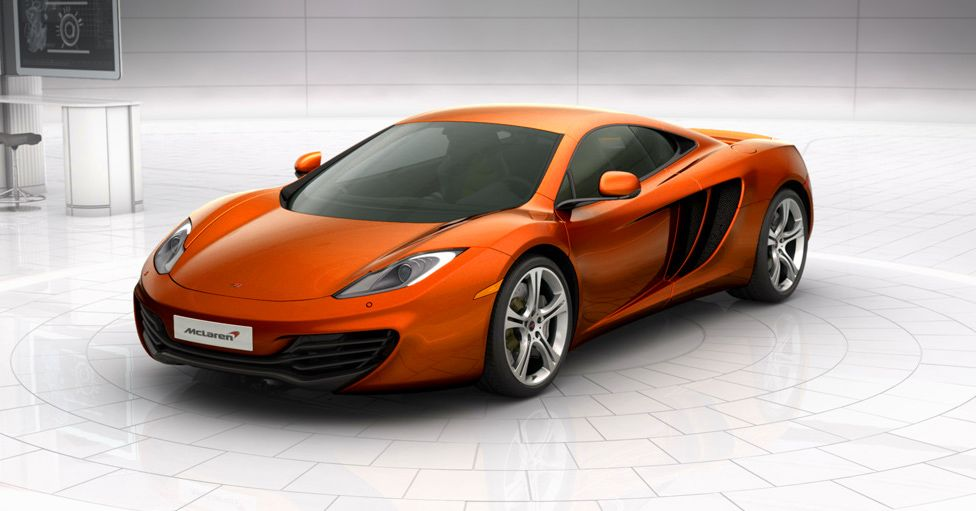 McLaren MP4-12c. The only orange car I'll ever love.