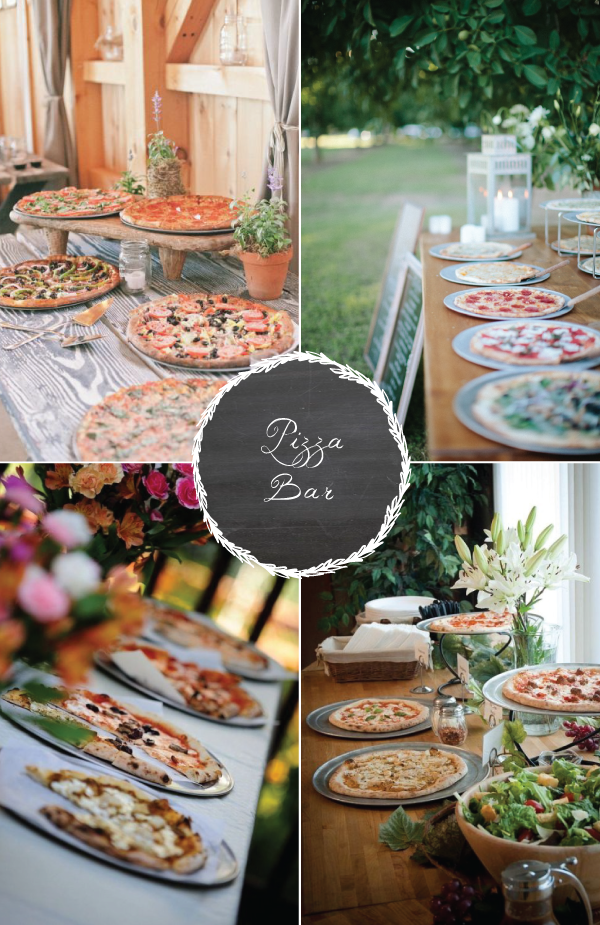 8 Food Stations Your Guests Are Sure To Love Pizza Burgersburger Barwedding