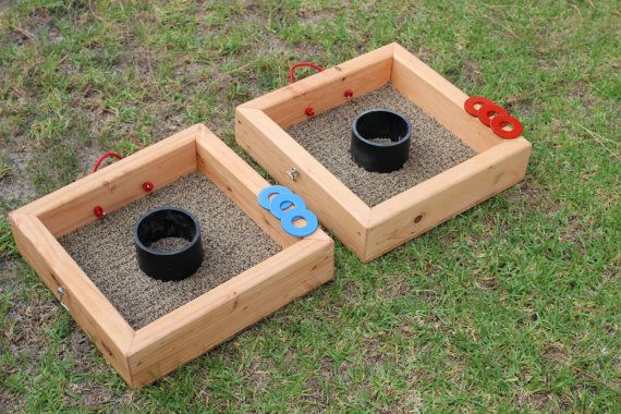 washer toss game set backyard games lawn games 4 pvc pipe washer toss