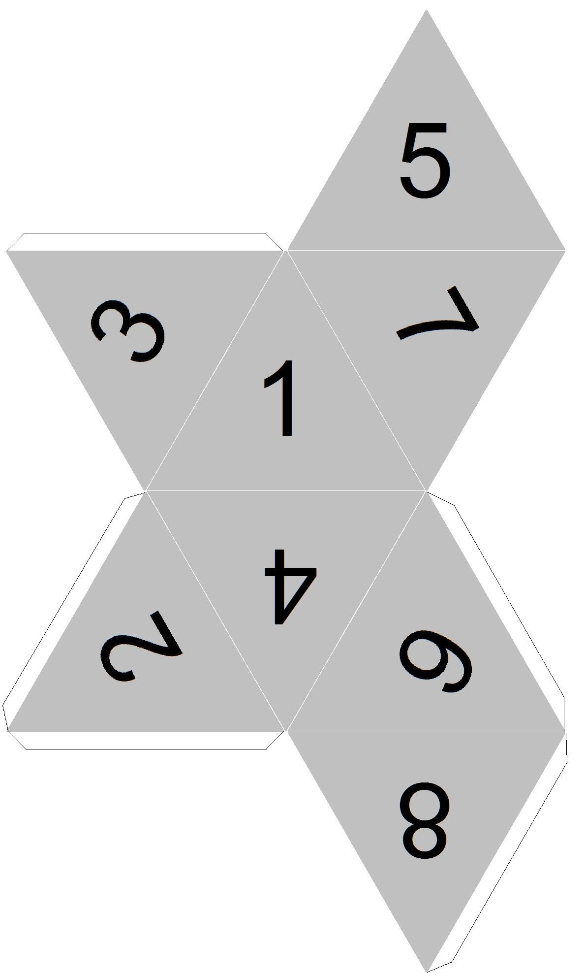 Multitudes dice template | Math | Pinterest | Math