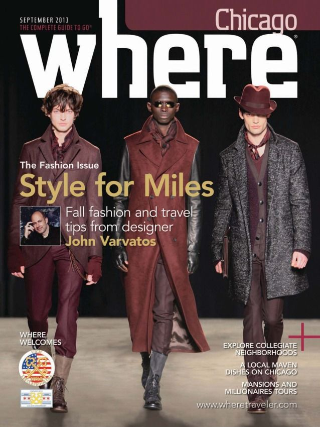 Where Chicago  Magazine - Buy, Subscribe, Download and Read Where Chicago on your iPad, iPhone, iPod Touch, Android and on the web only through Magzter