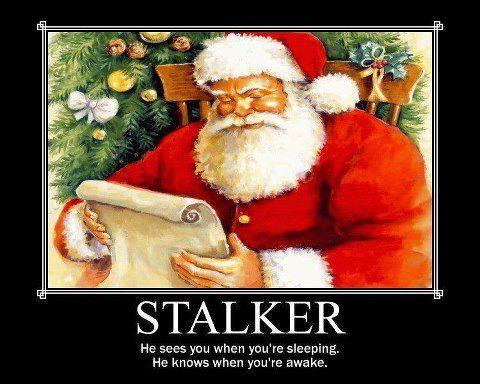 poor old Santa!!