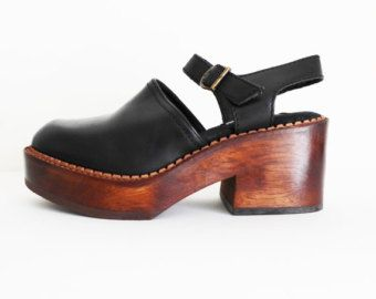 1d7d22b5a7d RESERVED for Sofia -Size 7 Vintage 90s Steve Madden Mary Jane Clogs ...
