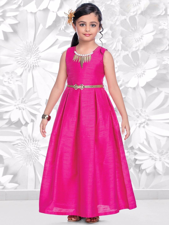 Magenta Raw Silk Gown | a | Pinterest | Silk gown, Gowns and Silk
