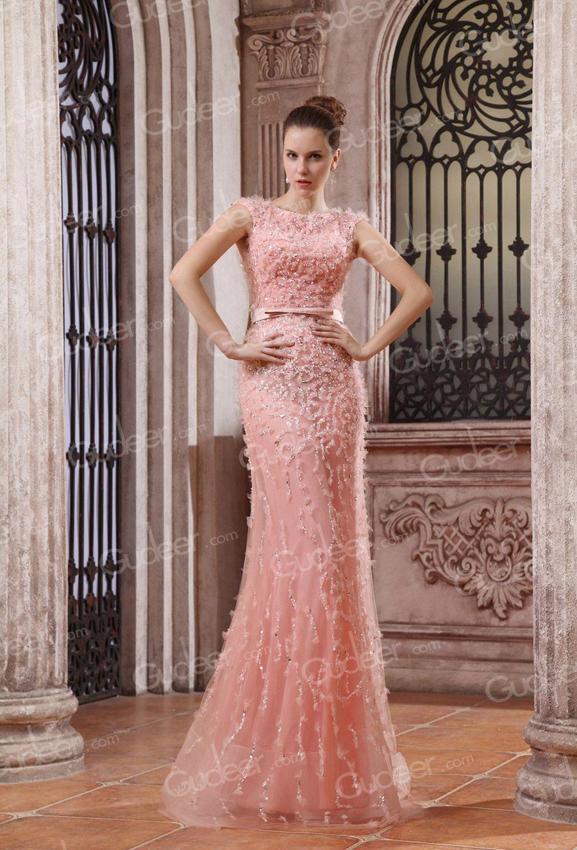 pink evening gowns - Google Search | My Closet | Pinterest | Pink ...
