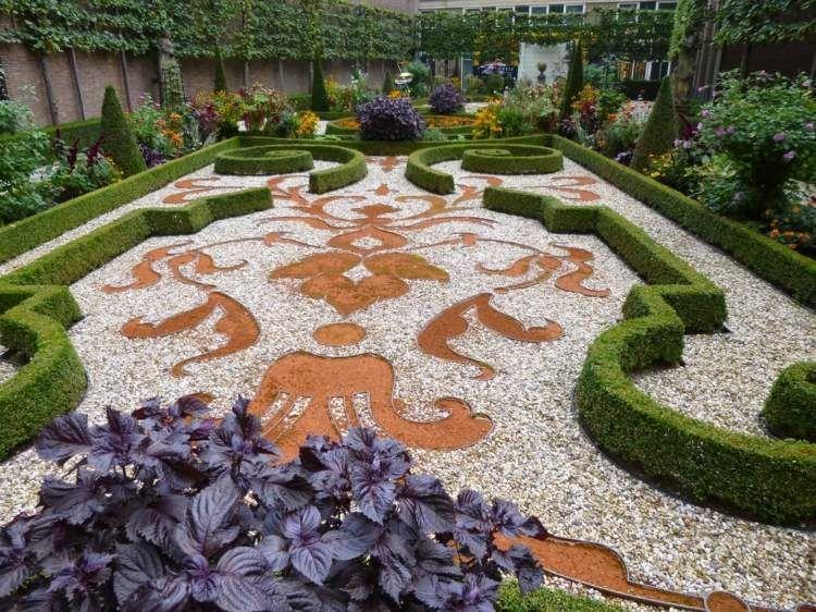 Gravier blanc pour le jardin: astuces et idées déco | Decorazione