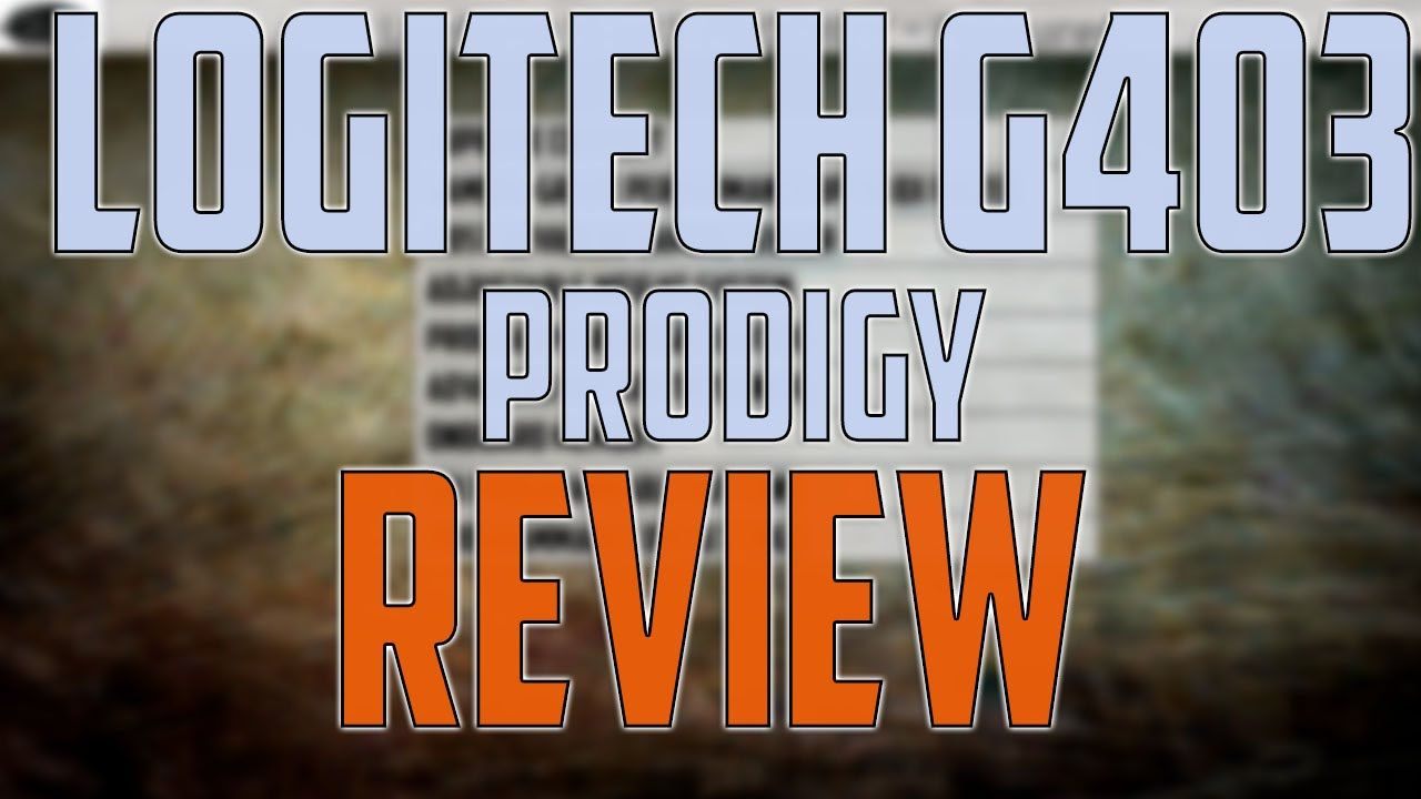 LOGITECH G403 REVIEW & Best Gaming Settings and Calibration