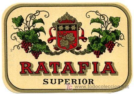Etiqueta Ratafia Superior Er 327 Catalanes