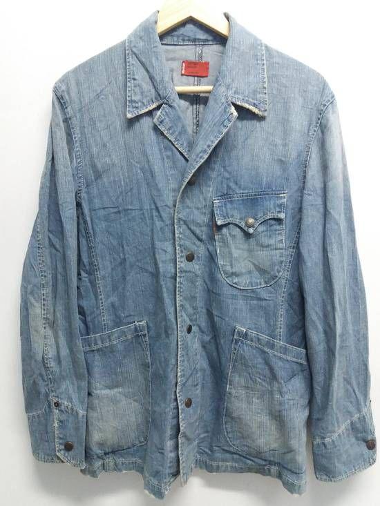 Levis Men Denim Work Jacket Size M Light Jackets For Sale Grailed Vintage Levis Jacket Levi Vintage Denim