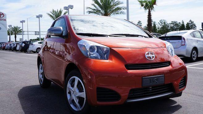 2014 Scion Iq Model Info Orlando Scion For Sale Scion Fuel Efficient Toyota Garage
