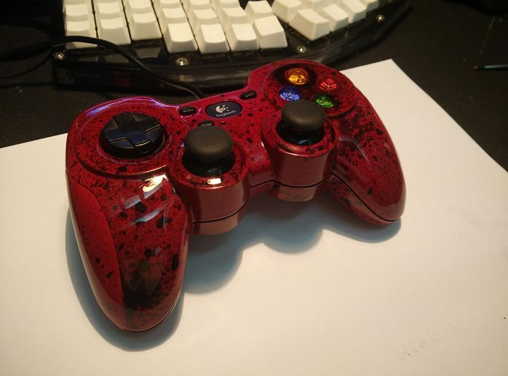 I painted my controller Check out the full project http://ift.tt/2kjFc9o Don't Forget to Like Comment and Share! - http://ift.tt/1HQJd81