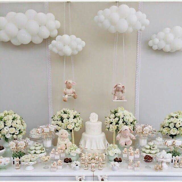 Nyosha brown festa pinterest brown columns and cloud for Balloon cloud decoration