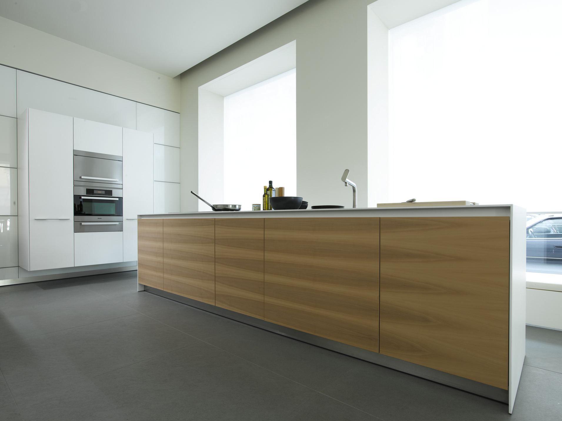 B3 Wood veneer kitchen by Bulthaup | EyeCandy | Pinterest | Wood ...