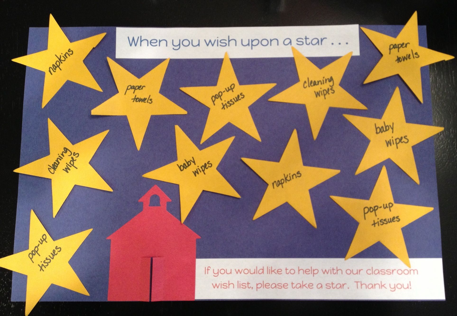 Preschool Classroom Wish List Laminate First Then Tape