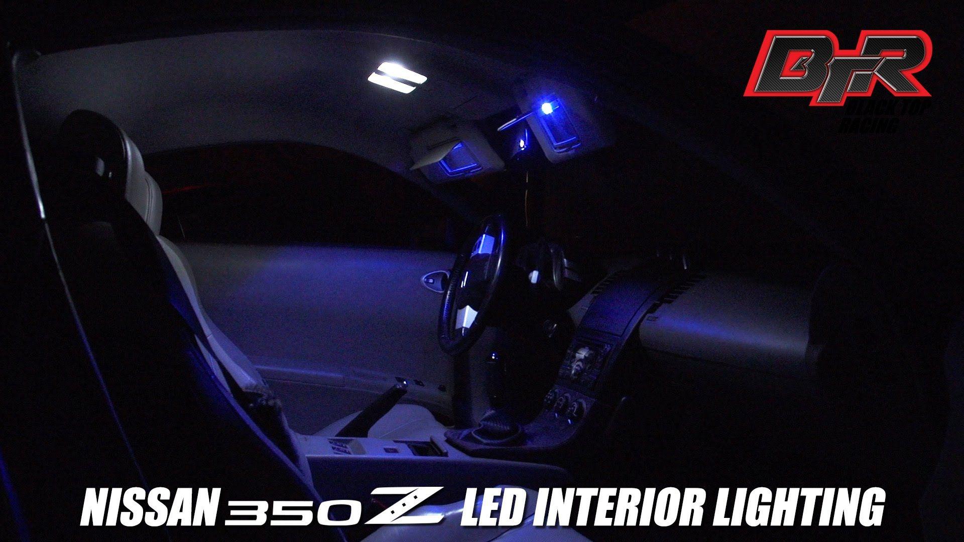 Nissan 350z Led Interior Lights Series 2 Black Top Racing You