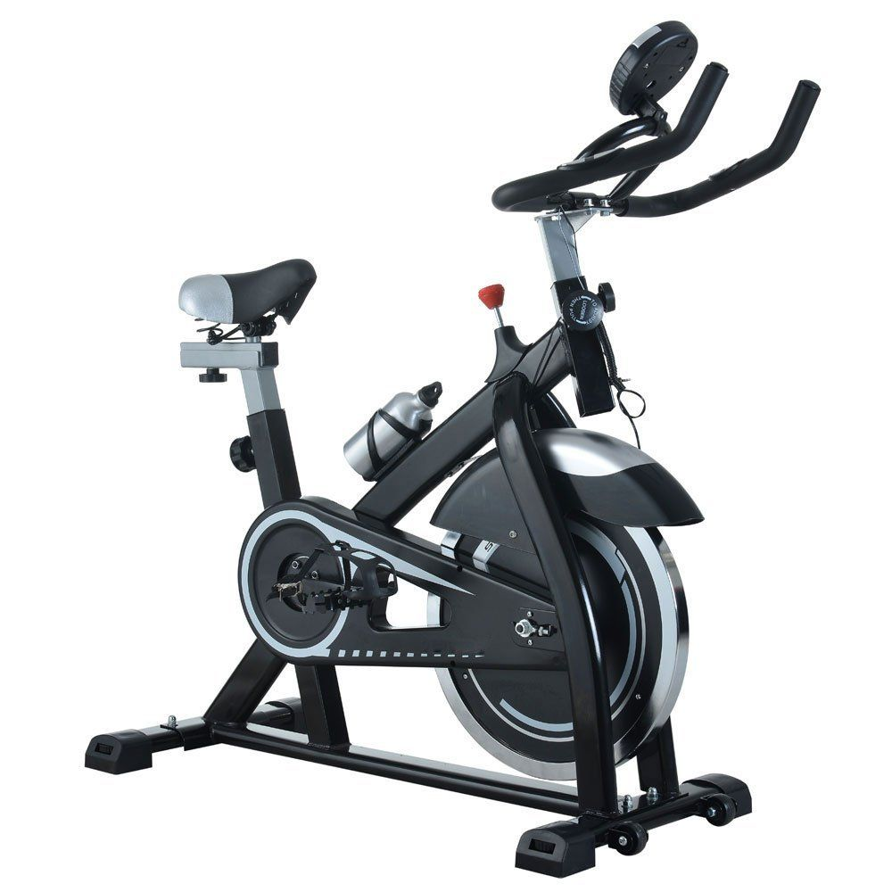 Lykos Stationary Exercise Bicycle Indoor Bike 15kg Flywheel Office