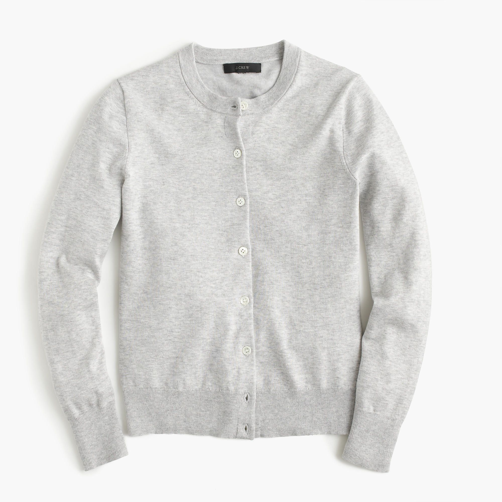 Shop the Cotton Jackie Cardigan Sweater at JCrew.com and see our ...