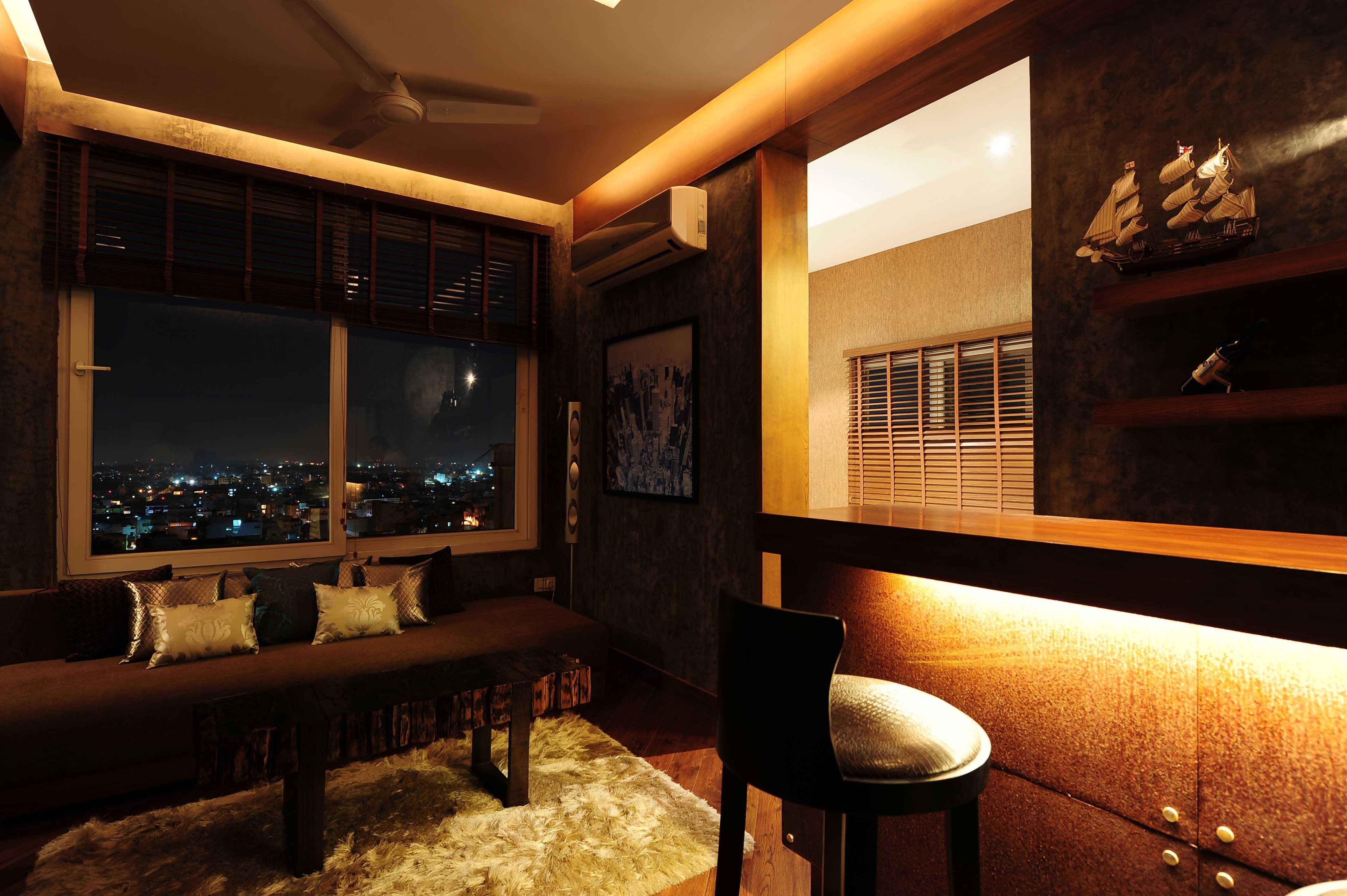 Luxury Living Area Design by Hameeda Sharma Architect in