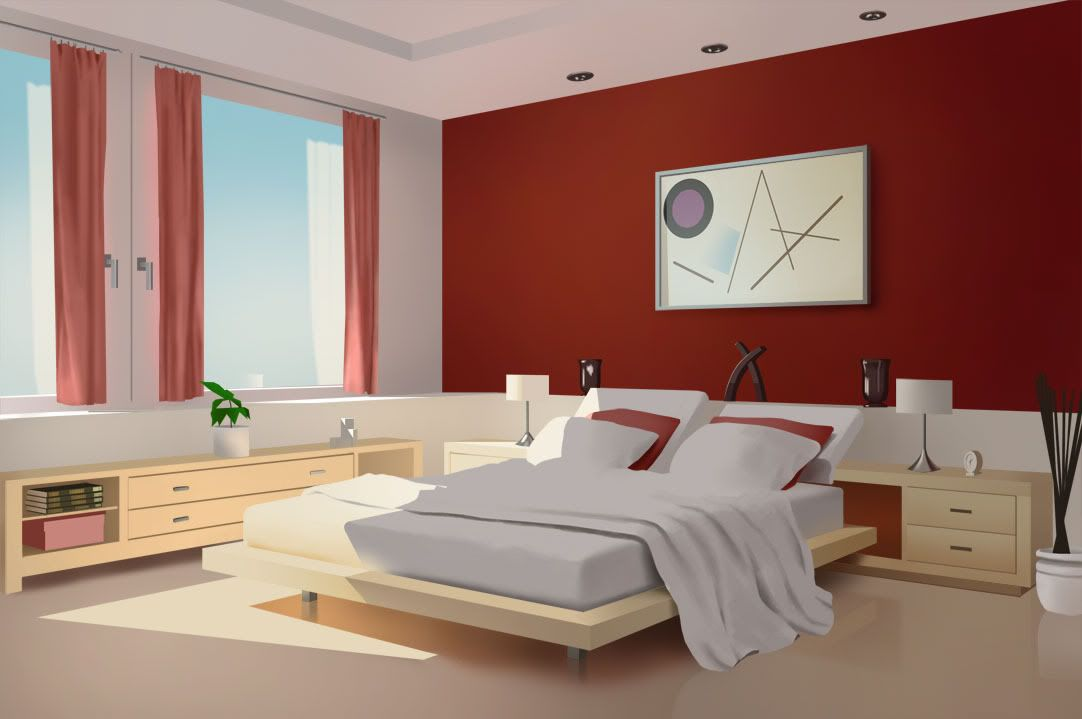 One Point Perspective Interior Drawing Hand Pinterest The world 39 s  catalog of ideas  Two. 2 Point Perspective Bedroom