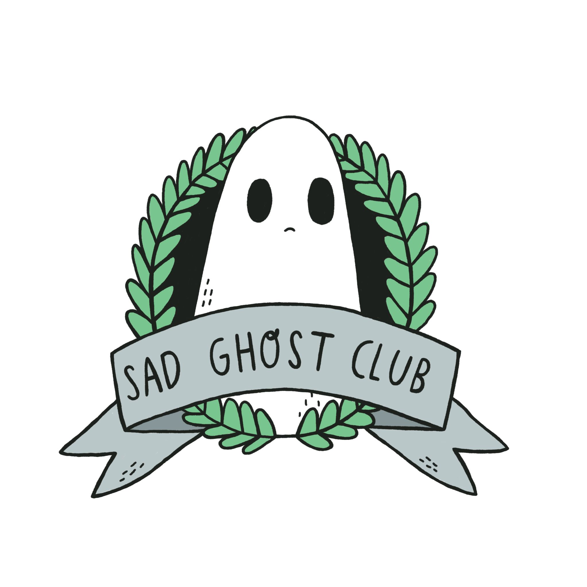 Halloween Stickers Aesthetic.Pin On Sad Ghost Club