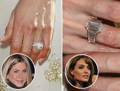 Angelina Jolie Engagement Ring From Brad Pitt Engagement Rings Favorite Engagement Rings Angelina Jolie Engagement Ring